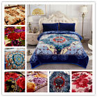 2 Ply Crystal Velvet Plush Mink Blanket Korean Style Printed Heavy Blanket K/Q image