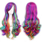 80cm Long Curly Wigs Halloween Cosplay Costume Hair Anime Full Wavy Party Wig