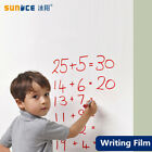 Whiteboard Self-adhesive Writing Film Dry Wipe Message Board for office school