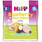 2 x Hipp Rice Cakes For Toddlers & Blueberry From 8 Month Each 35g / total 70g