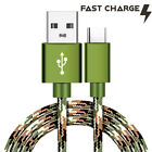 CAMO 4ft 6ft 10ft USB C Cable FAST Charger Type C Charging Cord for Smartphones