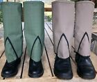 Gaiters-gold Prospecting (no Metal) Minelab,snake Protection,hiking - Free Post