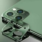 For iPhone 11 Pro Max 11 Pro Metal Tempered Glass Camera Lens Screen Protector