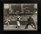Cleveland Indians' Bob Feller pitching to New York Yankees' Joe DiMaggio Black on Ebay