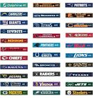 4 x 24 Official NFL Football Street Sign Ave $6.20 USD on eBay