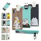 Cute 3D Cartoon Animals Silicone Phone Case Cover For Samsung S8 S9 S20+ Note 10