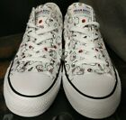 New Converse X Hello Kitty Limited Edition Sneakers Women's 163916F CTAS OX