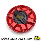 RED FCR 1/4 Quick Lock Gas Fuel Cap For Triumph Sprint 1050 11 12 13 14 15 16 $55.8 USD on eBay