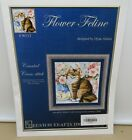 Kustom Krafts Flower Feline Cross Stitch Pattern #90113 Dyan Allaire