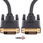 DVI-D TO DVI-D Cable Male To Male Dual Link 24 + 1 Pin Monitor Display DVI Wire