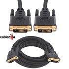 DVI-D TO DVI-D Cable Male To Male Dual Link 24  1 Pin Monitor Display DVI Wire