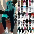 Women Stretch Fitness Yoga Leggings PUSH UP Pants High Waist Sports Activewear