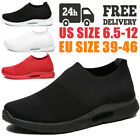 Men's Sneakers Lightweight Sports Breathable Running Tennis Shoes Athletic Gym, used for sale  Shipping to Nigeria