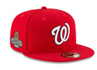 Washington Nationals New Era 2019 World Series Champions 59FIFTY Fitted Hat Red on Ebay