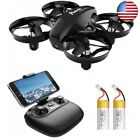 Potensic A20W Mini Drone for Kids with Camera, RC Portable Quadcopter 2.4G 6