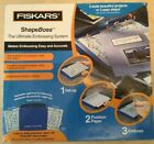 Fiskars ShapeBoss The Ulimate Embossing System With 5 Stencils Used