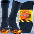 3 Pairs Mens Heavy Duty Winter Warm Thermal Work Cotton Wool Boots Socks 9 13