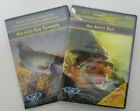 Lot of 2 Bass Fishing DVD (All About Bass) (Advanced Bass Techniques New Sealed