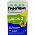 PreserVision AREDS 2 Vitamin & Mineral Supplement, Soft Gels 120 ea - 01/2021 $19.2 USD on eBay