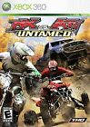 MX vs. ATV Untamed - Xbox 360 Game and Case