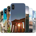 Dessana Greece TPU Silicone Protective Cover Phone Case Cover for Apple