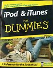 iPod & iTunes For Dummies (For Dummies PB 2008 5th ed Computers