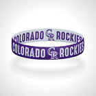 Reversible Colorado Rockies Bracelet Wristband