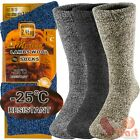 Kyпить 3 Pairs Winter Merino Lambs Wool Heavy Duty Thermal Boots Socks For Mens 10-13 на еВаy.соm
