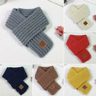 US STOCK Lovely Boys Girls Fashion Knitted Scarf Autumn Winter Warm Solid Scarf
