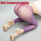 Plus Size Women Pantyhose 100D Oil Shiny Glossy Dance Stocking Tights footed