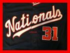 2019 MAX SCHERZER WASHINGTON NATIONALS JERSEY NAVY M L XL 2XL WS CHAMPS PATCH