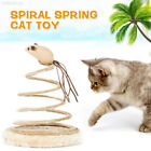 F082 Spring Spring Cat Toy Funny Cat Toy Playing False Mouse Sturdy