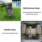 Koreyosh Pet Stroller, Foldable with Storage Basket, Wagon for Cats, Dogs,