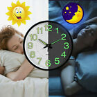 12 inch Glow Dark Wall Clock Silent Quartz Luminous Wall Classic Night Clocks