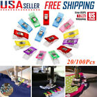 20Pcs/100PCS Pack Clips for DIY Crafts Quilting Sewing Knitting Crochet Useful