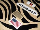 CINCINNATI BENGALS Football Helmet Decal Set 3M 20MIL $21.99 USD on eBay