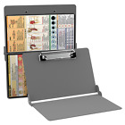 WHITECOAT CLIPBOARD - ANY EDITION - MEDICAL FOLDABLE CLIPBOARD - SILVER COLOR