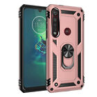 For LG K30 2019/Tribute Royal/Aristo 4 Plus Shockproof Ring Stand TPU Case Cover