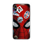 Marvel Spiderman Soft Case For iPhone 5S SE 6 6S 7 8 Plus X XS Max XR 11 Pro