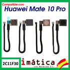 Button Home For Huawei Mate 10 Pro Flex Menu Footprint Central Cable Blanc