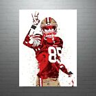 George Kittle San Francisco 49ers Poster FREE US SHIPPING $15.0 USD on eBay