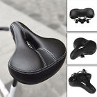 Reflective Bicycle Saddle Extra Wide Mountaion Bike Seat Shock Absorbing MTB NEW