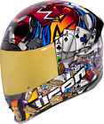 Icon Airframe Pro Lucky Lid 3 Helmet Motorcycle Mens Adult All Sizes & Colors