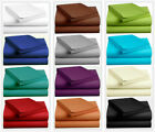 Percale Cotton Sheet Set 400 TC 12 Inches Deep Fitted 6 Piece Bed Set image