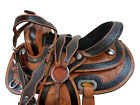 TOOLED LEATHER PRO WESTERN 16 15 BARREL RACING PLEASURE HORSE SHOW TACK SET