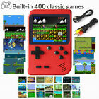 Mini Retro Handheld Box Game Console Built-in 400 Classic Games Boys Gift USA