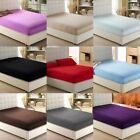 Fitted Sheet Only 100% Cotton 600 Thread Count 6 Inches Deep Easy Fits image