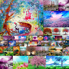 Tree Landscape Full Drill Diy 5d Diamond Painting Embroidery Cross Craft Room Uk