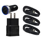 Wall Car Charger USB Cable for Samsung Galaxy S10 G5 S9 S8 Fold A20 A50 A70 A80
