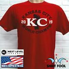 2019 KANSAS CITY CHIEFS SUPER BOWL LIV CHAMPIONSHIP T-SHIRT $15.95 USD on eBay